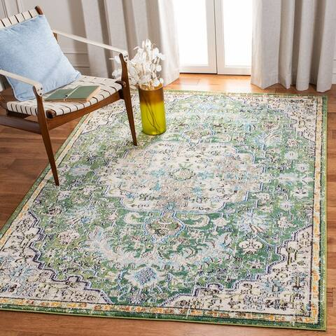 Safavieh Madison Sabire Boho Medallion Distressed Rug