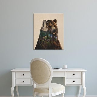 Easy Art Prints Davies Babies's 'Bear Lake' Premium Canvas Art