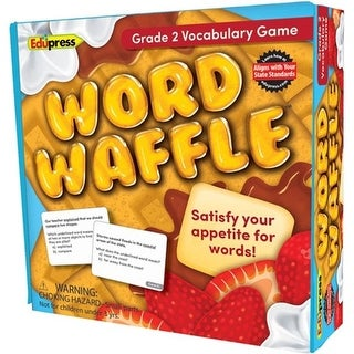 Edupress EP-2097 Word Waffle Game Grade 6