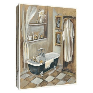 "PTM Images 9-154381  PTM Canvas Collection 10"" x 8"" - ""French Bath III"" Giclee Bathroom Art Print on Canvas"