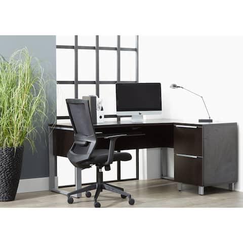 Rye Studio Tivoli 63 Inches Right Crescent Desk