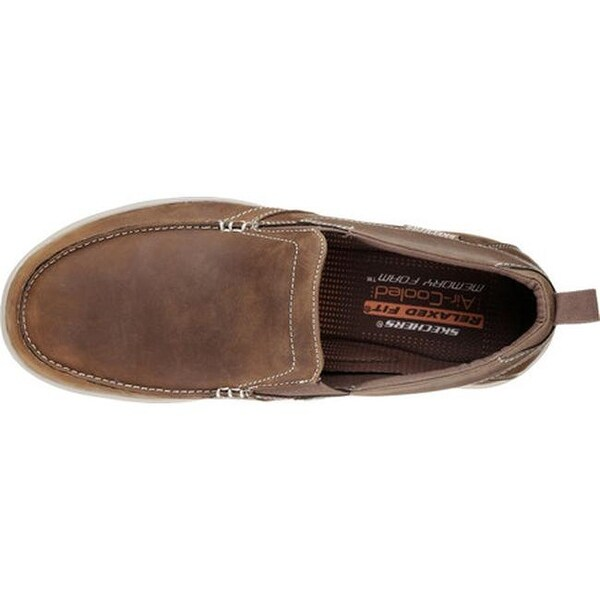 Shop Skechers Men's Relaxed Fit Harper Forde Loafer Desert