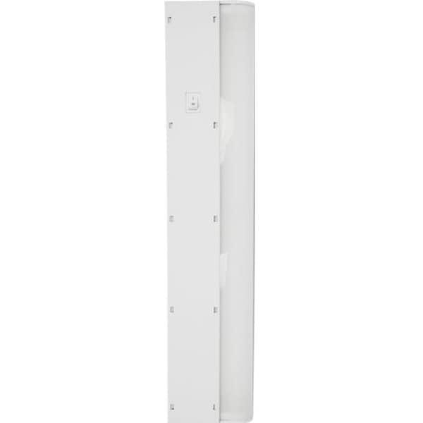 under cabinet fluorescent light led ge 10198 basic under cabinet fluorescent light fixture plastic 18 shop plastic