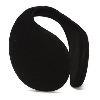 Fleece Ear Muffs (Black) - One Size