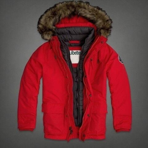 Men's Fashion Winter Warm Nagymaros Slim Collar Hooded Down Coat