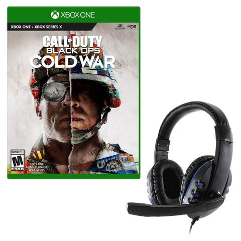 Call of Duty Black Ops Cold War for Xbox One and Universal Headset - Multi-color