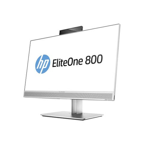 "HP EliteOne G3 23"" Touchscreen Intel Core i7-7700 X4 8GB 256 SSD Silver (Certified Refurbished)"