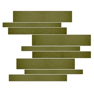 Miseno MT-G1SEAG Horizontal Mosaic Wall Tile (10.92 SF / Carton)