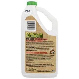 Earthworm Drain Cleaner - Case of 6 - 32 FL oz.