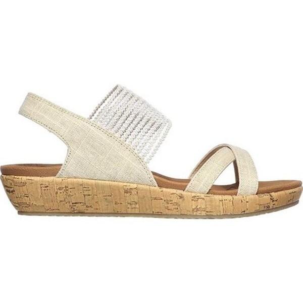 Skechers Brie Dawdle Womens Sandal Low Heel Shoes Low Heel