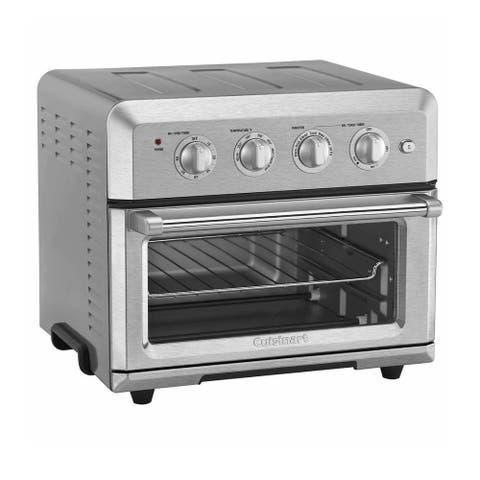 Cuisinart Air Fryer Toaster Oven (Silver) (Renewed)