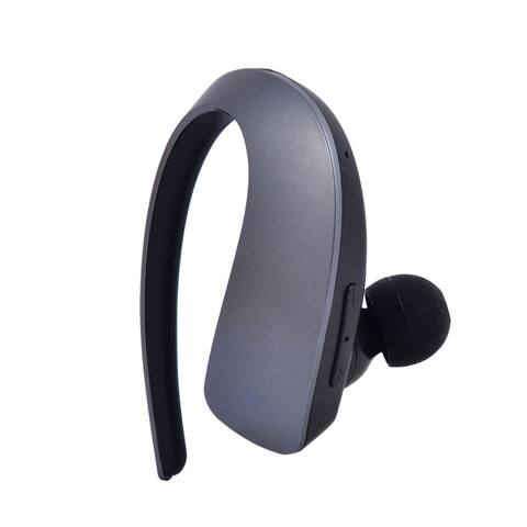 Unique Bargains Noise Reduction Earhook Wireless Stereo V4.1 bluetooth Headset Headphone Gray