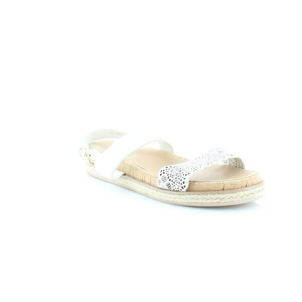 Salvatore Ferragamo Gianette Women's Sandals & Flip Flops Lait Linch - 10