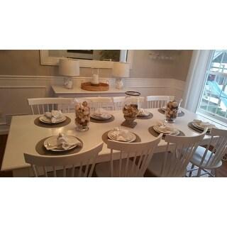 NovaSolo White Mahogany Dining Table