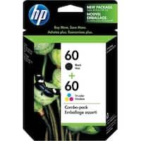 HP 60 Black & Tri-color Original 2 Ink Cartridges (N9H63FN)(Single Pack)