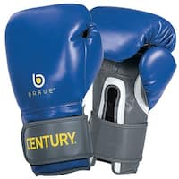 Century Brave Wrist Wrap Training Boxing Gloves - Blue