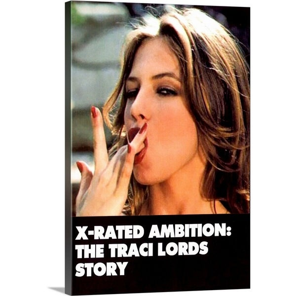 Shop Solid Faced Canvas Print Entitled X Rated Ambition The