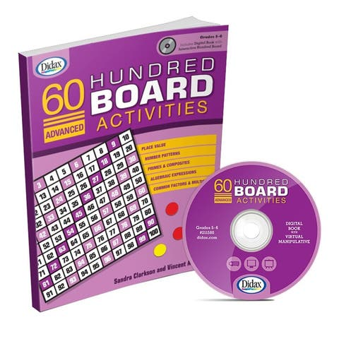 60 Advanced Hundred Brd Activities Gr 5-6