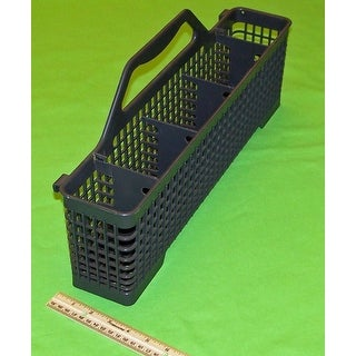 Haier Dishwasher Silverware Utensil Basket Originally Shipped With: DWL7075MCSS, DWL3225DDWW, DWL2825SDSS, DWL2825DDWW