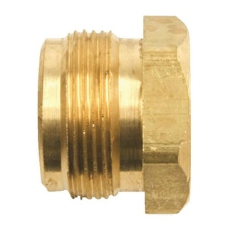 Mr Heater F276140 Male Throwaway Cylinder Adapter, Brass