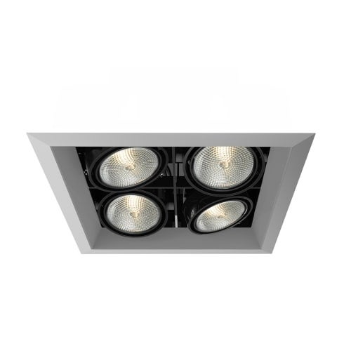 Eurofase lighting te164b multiple recessed medium e26 2 x 2 light recessed tri
