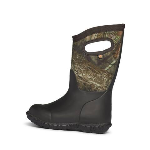 Bogs Outdoor Boots Boys York Camo Waterproof Insulated Bloom