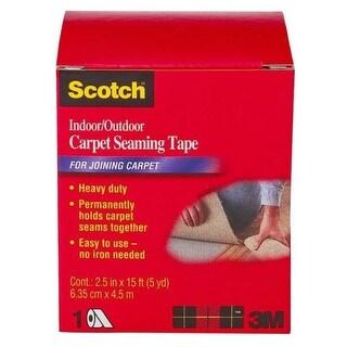 "Scotch CT4010DC Carpet Seaming Tape, 2-1/2""x15'"