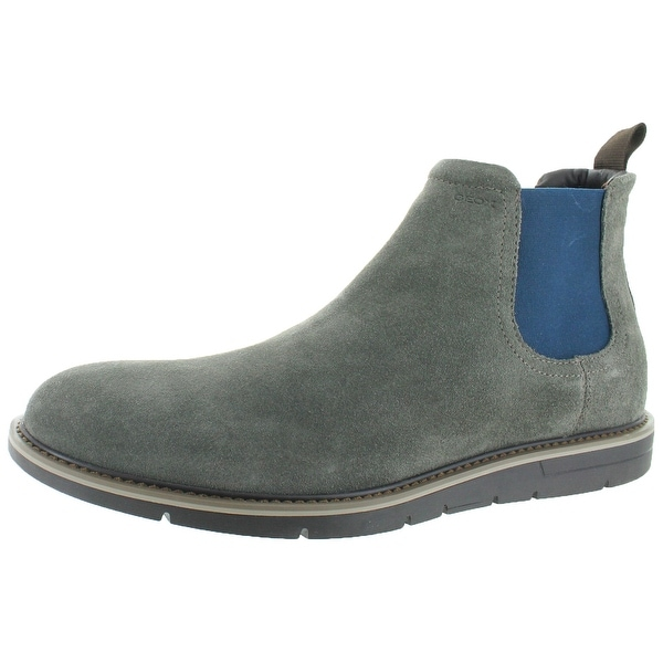 Geox Uvet Men's Chelsea Gord Suede Ankle Boots