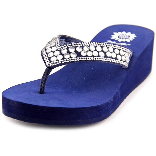 Yellow Box Sparrow Women Navy Sandals