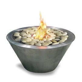 Oasis (Stainless Steel) Table Top Gel Fuel Fireplace