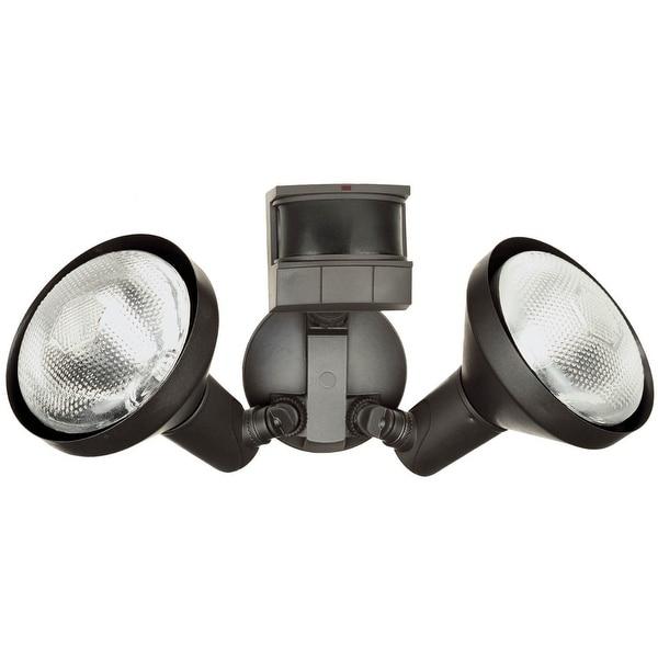 Heath Zenith HZI-5318-BZ Dualbrite Motion Sensor Light, Bronze