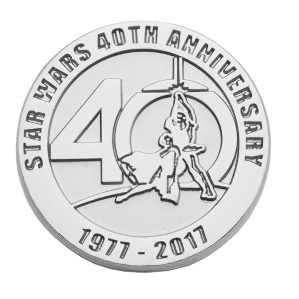 Shop Star Wars 40th Anniversary Limited Edition Pin Free Shipping