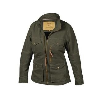 StS Ranchwear Western Jacket Womens Sundance Front Zip Loden