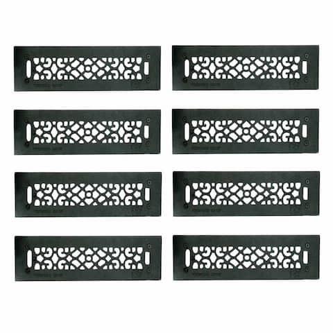 8 Floor Heat Register Louver Vent Cast 2 1/4 x 14 Duct