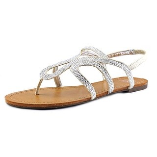 Material Girl Serena Open-Toe Canvas Slingback Sandal
