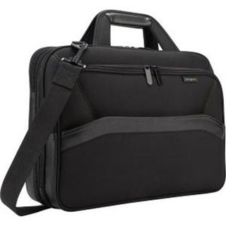"Targus Spruce Ecosmart Checkpoint-Friendly Briefcase For 15.6"" Laptops, Black, Tbt256"