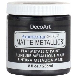 Charcoal - Americana Decor Matte Metallics 8Oz