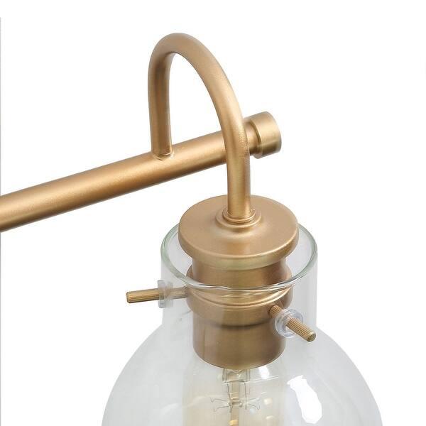 Modern Bathroom Wall Sconces Gold Vanity Lighting For Powder Room L22 X W7 X H9 L22 X W7 X H9 On Sale Overstock 29416107