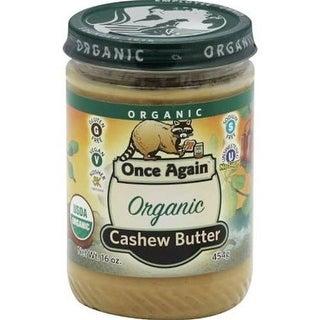Once Again - Organic Cashew Butter ( 12 - 16 OZ)