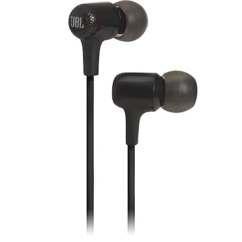 JBL E15 In-Ear Headphones with One-Button Remote and Mic - 5.9 x 2 x 3.9