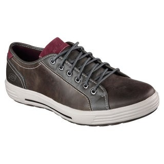 Skechers 64737 GRY Men's PORTER-RESSEN Oxford