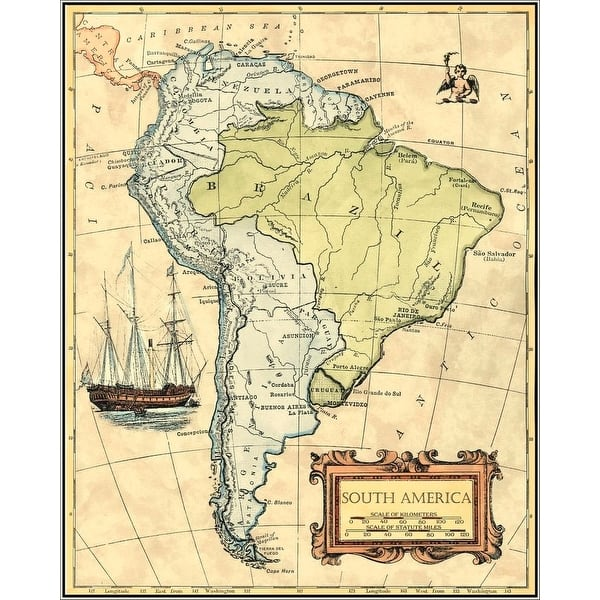 Shop Easy Art Prints Vision Studio's 'South America Map ... Easy Map Of Latin America on map of spain, map of bahamas, map of jamaica, map of argentina, map of united states, map of middle east, map of amazon river, physical map latin america, map of caribbean, map of atacama desert, map of puerto rico, map of canada, map of falkland islands, countries in south america, map of saudi arabia, map of costa rica, map of ecuador, map of bolivia, map of west indies, map of guyana,