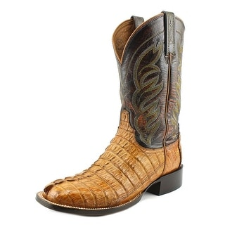 Lucchese Landon Men Square Toe Leather Western Boot