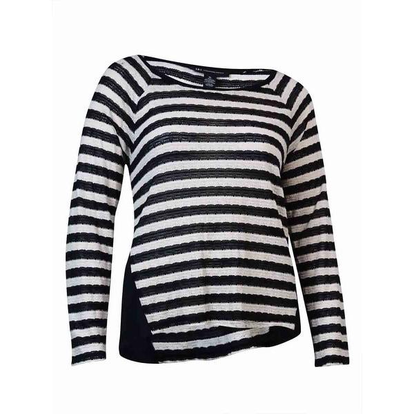 Shop Inc International Concepts Womens Striped Sweater Xl Deep