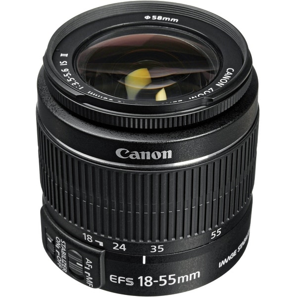 Canon EF-S 2042B002 Zoom Wide Angle-Normal EF-S 18-55 mm (Refurbished)