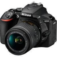 Nikon D5600 DSLR Camera with AF-P DX NIKKOR 18-55mm f/3.5-5.6G VR Lens
