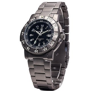 Smith & Wesson 357 Series Executive Watch Titanium 43mm 20ATM SWISS TRITIUM - Black