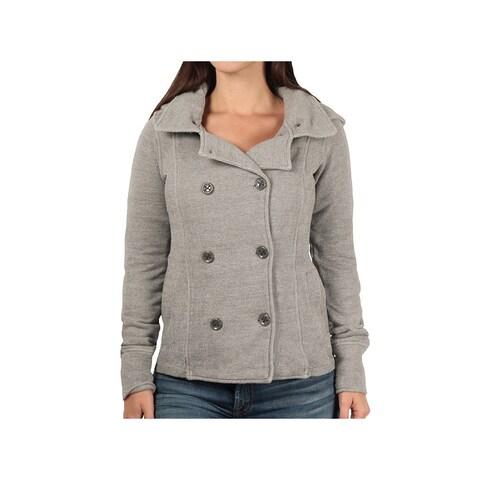ITC Ladies Textured Knit Hooded Jacket