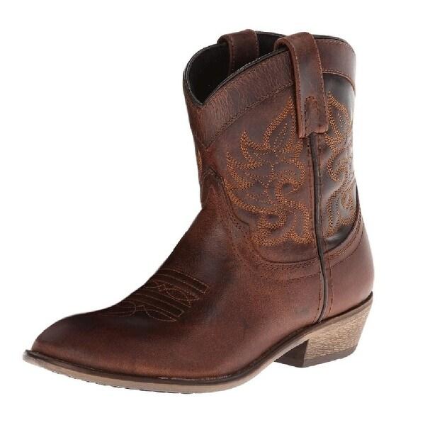 Dingo Western Boots Womens Buffalo Collar Brown DI 865