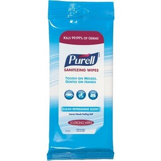 Go-Jo Ind. Purell Sanitizing Wipes 9119-28-CMR Unit: EACH